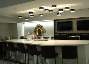 Blackhawks Locker Room Kitchen
